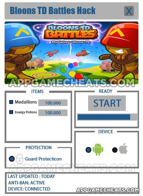 bloons td battles hack ios download