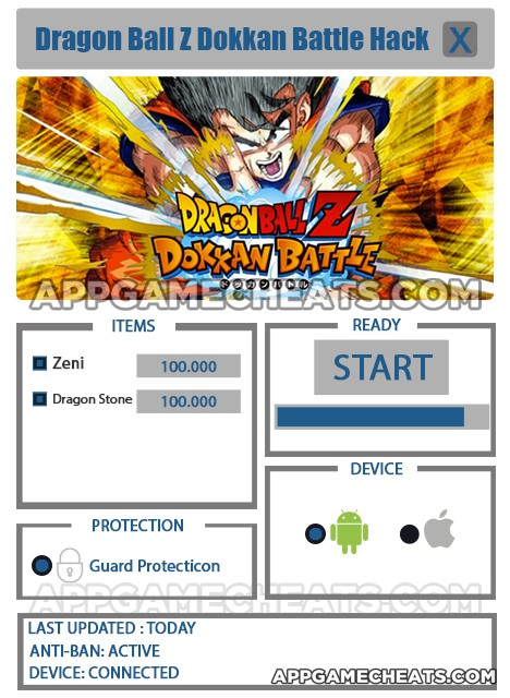 dbz dokkan battle hacks