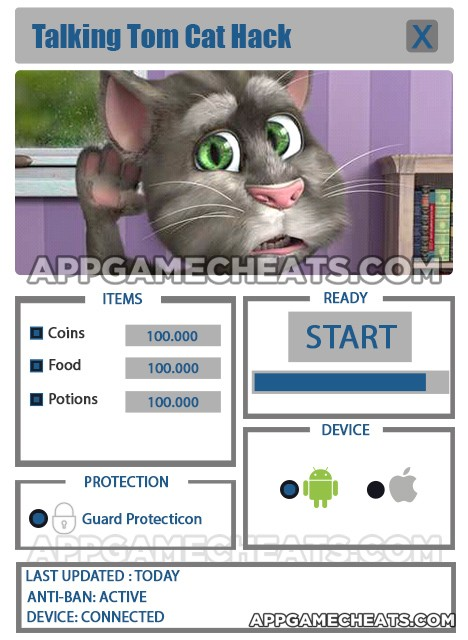 Talking Tom Hacker Eyes
