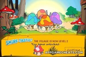 Smurf Village Background