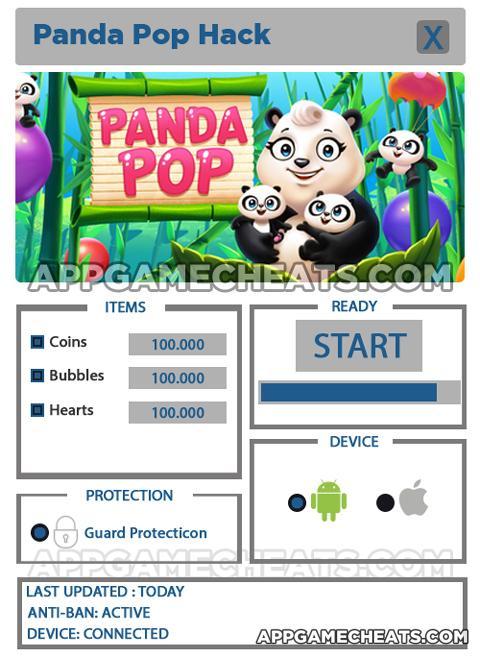 <b>Panda Pop</b> Coins, Bubbles &amp; Hearts Hack Tool &amp; <b>Cheats</b> 2016 ...