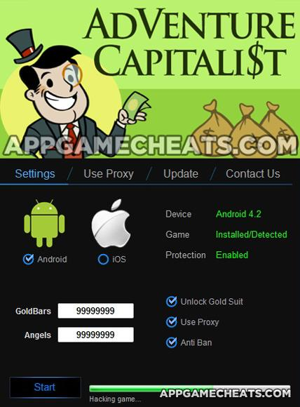 Adventure Capitalist Cheats, Tips, & Hack for Gold Bars