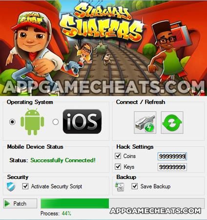subway surfers game hack app download