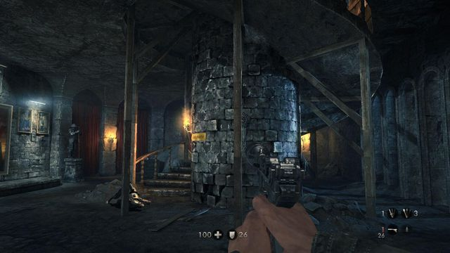 Wolfenstein  Area  Secret Room