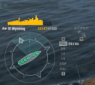 In the bottom left corner of the battle screen you will find basic information about your warship - Battle - Game interface - World of Warships - Game Guide and Walkthrough