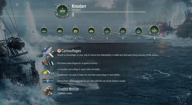 You will receive the funds for buying new ships by obtaining new account levels. - Account levels - For beginners - World of Warships - Game Guide and Walkthrough