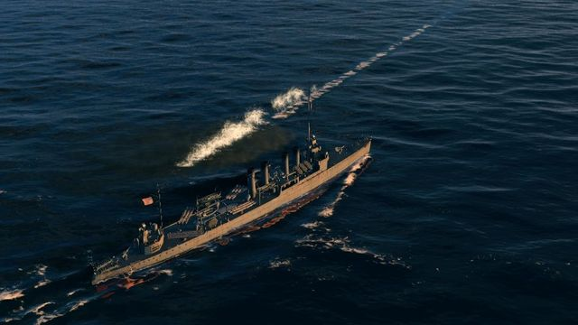 Only fast and agile destroyers and cruisers are able to avoid torpedoes in the last moment. - Sailing - Game mechanics - World of Warships - Game Guide and Walkthrough