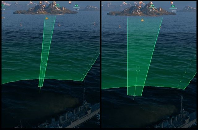 Use the two torpedoes shooting modes wisely. Each of them will work in different situations. - Aiming and shooting - Game mechanics - World of Warships - Game Guide and Walkthrough