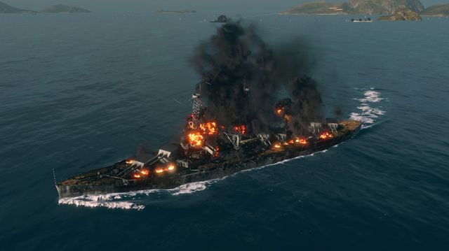 An effective high explosive fire can destroy even much stronger opponent. - Ammunition types - Game mechanics - World of Warships - Game Guide and Walkthrough