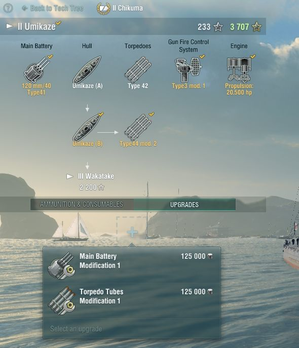 When buying upgrades for your ship, you should consider what you need the most - Modules and upgrades - Game mechanics - World of Warships - Game Guide and Walkthrough