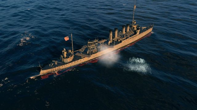 Speed and torpedoes are destroyers main weapons. - Destroyers - Warship types - World of Warships - Game Guide and Walkthrough