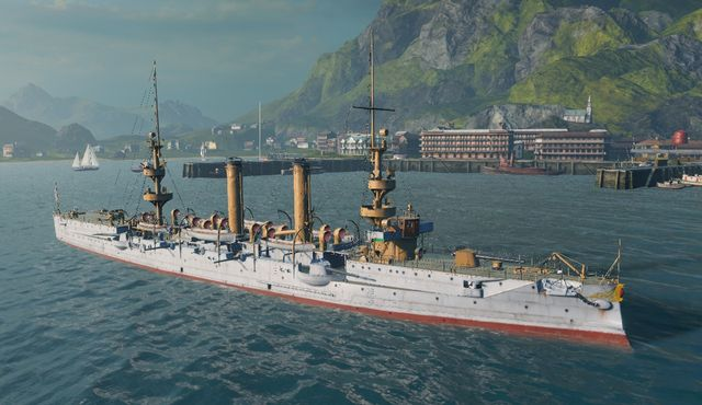 Name - Albany - USA - World of Warships - Game Guide and Walkthrough