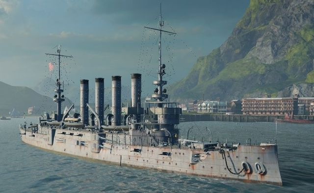 Name - St. Luis - USA - World of Warships - Game Guide and Walkthrough