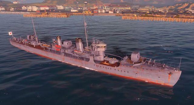 Name - Wakatake - Japan - World of Warships - Game Guide and Walkthrough