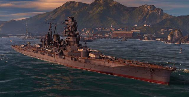 Name - Kongo - Japan - World of Warships - Game Guide and Walkthrough