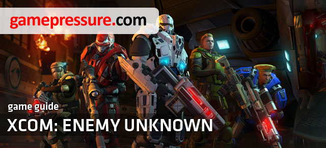 XCOM: Enemy Unknown Game Guide contains key information about the new Firaxis Games production - XCOM: Enemy Unknown - Game Guide and Walkthrough