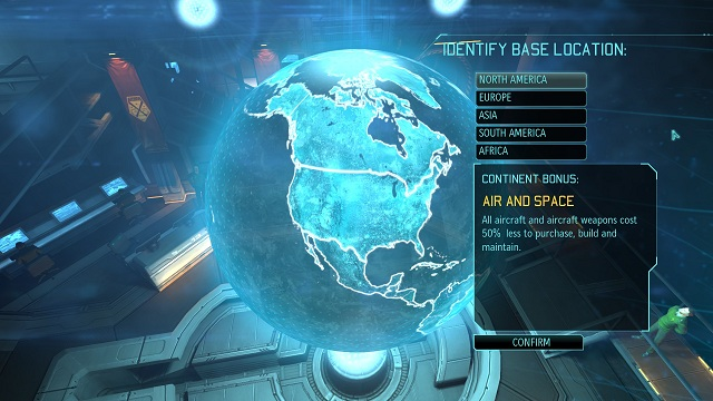 The choice of start location affects the first bonus we receive, so its worth to think it through - Construction of the base - Basic information - XCOM: Enemy Unknown - Game Guide and Walkthrough