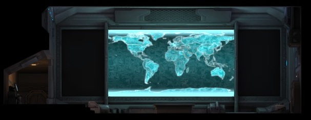 One of the most important rooms in the underground complex is the Situation Room - Satellites and funds - XCOM Base - XCOM: Enemy Unknown - Game Guide and Walkthrough