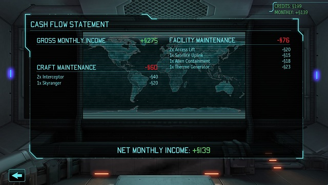If we lack the funds, you can get quickly rich using the option Visit the Gray Market - Satellites and funds - XCOM Base - XCOM: Enemy Unknown - Game Guide and Walkthrough