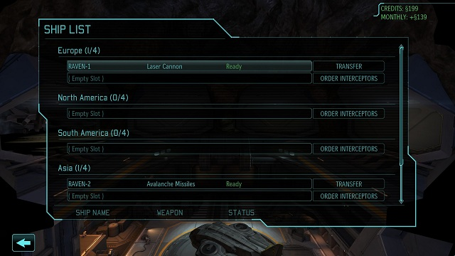 In addition to that, when you press the left mouse button on an aircraft owned, you get detailed information about the weapons (with the option to change to a more modern equipment), and eventually you will be able to wreck it and free some funds - Hangar - XCOM Base - XCOM: Enemy Unknown - Game Guide and Walkthrough