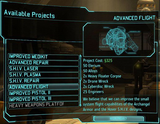 List of improvements from The Foundry is confusingly similar to the Build / Buy Items, but is governed by different rules. - Production and improvement of equipment - XCOM Base - XCOM: Enemy Unknown - Game Guide and Walkthrough