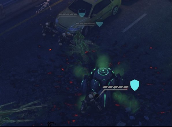 At the end of the round, all the soldiers are hidden behind terrain obstacles. - Tactics - How to play to win - XCOM: Enemy Unknown - Game Guide and Walkthrough
