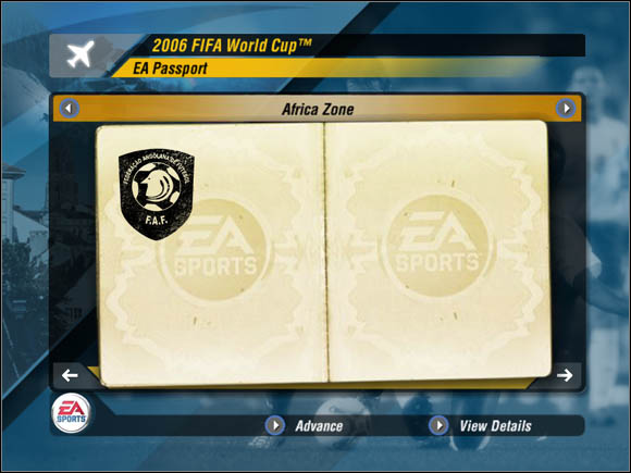 Collected points can be exchanged for special unlocks: new balls, shoes, shirts, footballers and so on - Points - World Cup Mode - 2006 FIFA World Cup Germany - Game Guide and Walkthrough