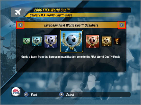 1 - Qualifiers - World Cup Mode - 2006 FIFA World Cup Germany - Game Guide and Walkthrough