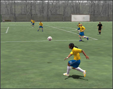 Double-clicking [A] is just a long pass - Crosses - Movement - 2006 FIFA World Cup Germany - Game Guide and Walkthrough