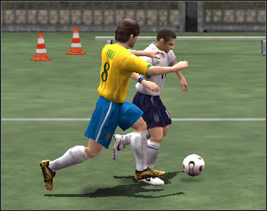 If your rival manages to get closer to your goal, press [W] to perform a goalkeeper charge - Defence and fouls - Movement - 2006 FIFA World Cup Germany - Game Guide and Walkthrough