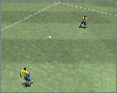 It is also possible to simulate collecting a pass - Passes - Movement - 2006 FIFA World Cup Germany - Game Guide and Walkthrough