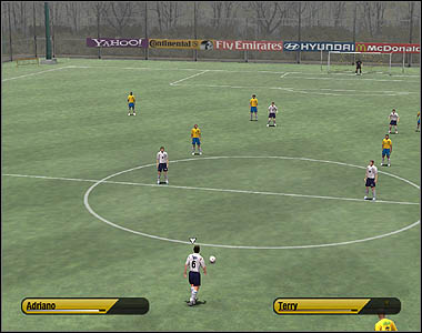 Direct free kicks allow you to make a shot on target - Free kicks, corners and penalties - Movement - 2006 FIFA World Cup Germany - Game Guide and Walkthrough