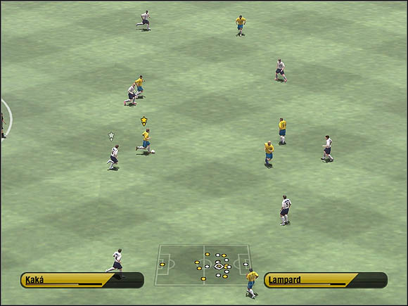 Start running towards the box - Through balls - Tactical solutions - 2006 FIFA World Cup Germany - Game Guide and Walkthrough