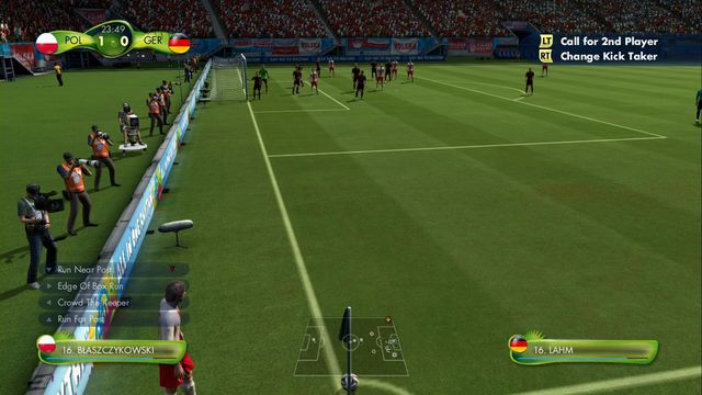 With this edition of FIFA, you can use special quick tactics while performing corner kicks - Corner kicks - quick tactics - Game - 2014 FIFA World Cup Brazil - Game Guide and Walkthrough