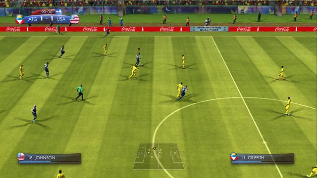 Even the throw-in may give you a win! - CONCACAF - Story of Qualifying - challenges - 2014 FIFA World Cup Brazil - Game Guide and Walkthrough