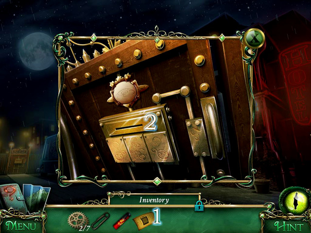 This time, you can look into a guest book - Hotel - Main storyline - 9 Clues: The Secret of Serpent Creek - Game Guide and Walkthrough