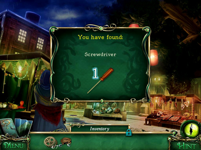 There you find another scene with hidden object - City streets - Main storyline - 9 Clues: The Secret of Serpent Creek - Game Guide and Walkthrough