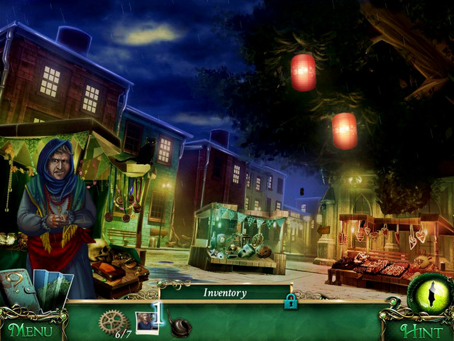 Head for Stalls, and show Amulet's photo [1] to the merchant lady - Return to the hotel - Main storyline - 9 Clues: The Secret of Serpent Creek - Game Guide and Walkthrough