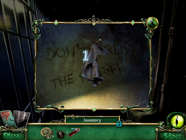 Give back Helen's Amulet to your friend in the Jail - Return to the hotel - Main storyline - 9 Clues: The Secret of Serpent Creek - Game Guide and Walkthrough