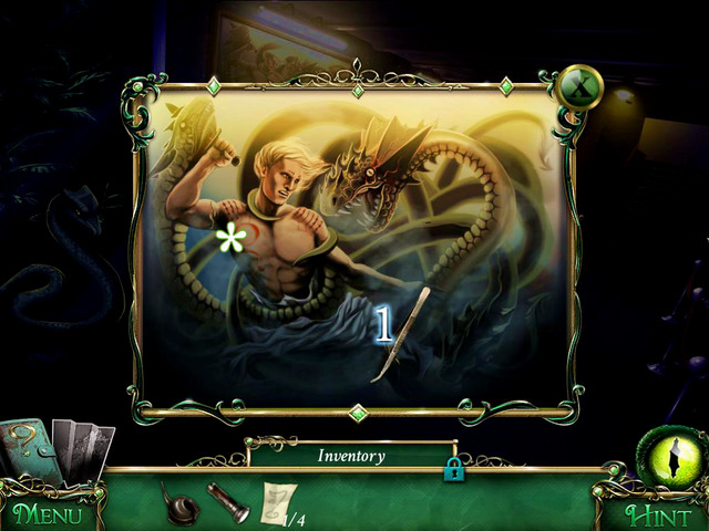 Approach the painting on left - Museum - Main storyline - 9 Clues: The Secret of Serpent Creek - Game Guide and Walkthrough