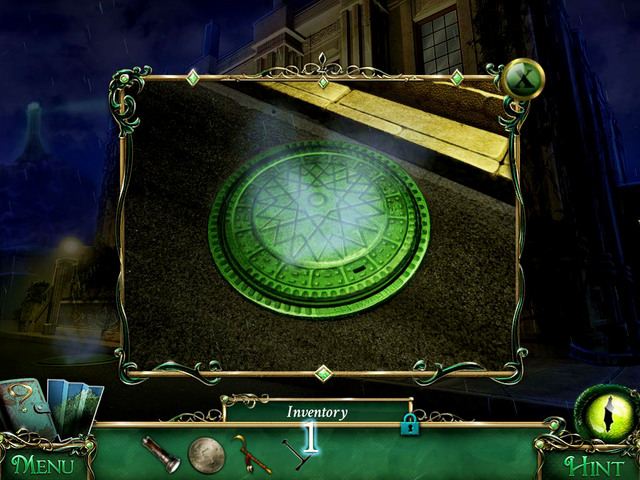 Approach the manhole - Sewers - Main storyline - 9 Clues: The Secret of Serpent Creek - Game Guide and Walkthrough