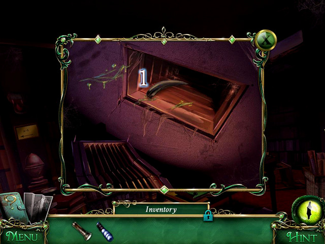 When the monster appears again, it leaves its Claw in the shaft [1] - Library - Main storyline - 9 Clues: The Secret of Serpent Creek - Game Guide and Walkthrough