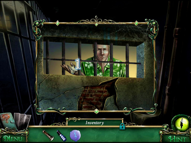 Owen finds you in the cell and gives you Lockpicks [1] - Prison - Main storyline - 9 Clues: The Secret of Serpent Creek - Game Guide and Walkthrough