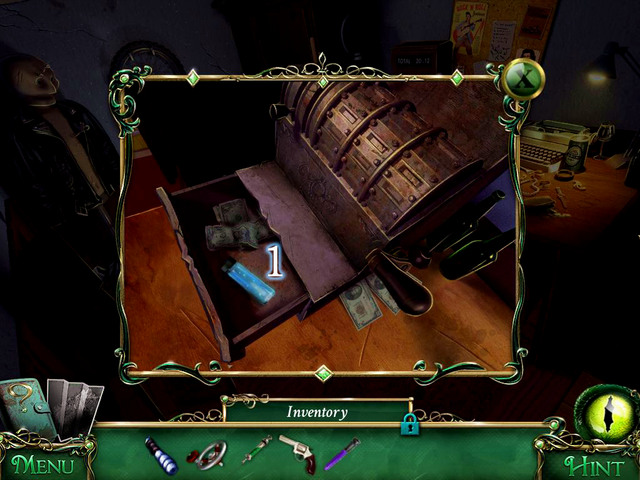 Take a Stabilizer [1] and then begin a scene with hidden object, which provides you with a Funel - Mansion - Main storyline - 9 Clues: The Secret of Serpent Creek - Game Guide and Walkthrough