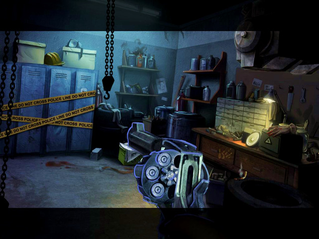 Begin a scene with hidden object, what gives you an additional ammo - Mansion - Main storyline - 9 Clues: The Secret of Serpent Creek - Game Guide and Walkthrough