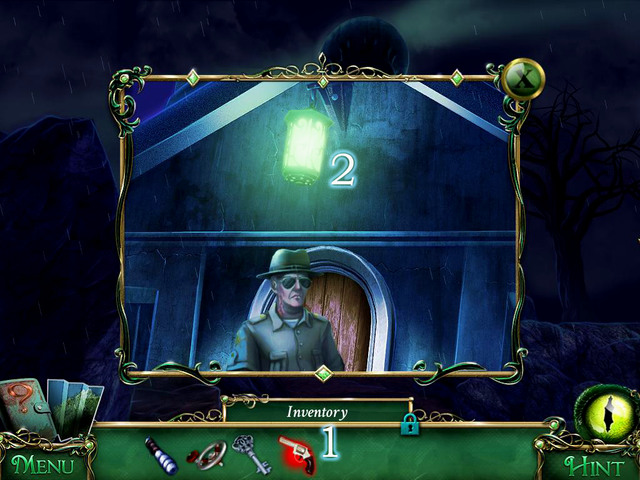 Willson guards an entrance - Lighthouse - Main storyline - 9 Clues: The Secret of Serpent Creek - Game Guide and Walkthrough