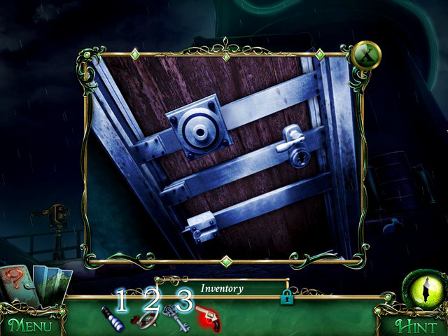 Placing in the proper places Heavy handle, Valve and Lighthouse key, you are able to go inside, so do it - Lighthouse - Main storyline - 9 Clues: The Secret of Serpent Creek - Game Guide and Walkthrough