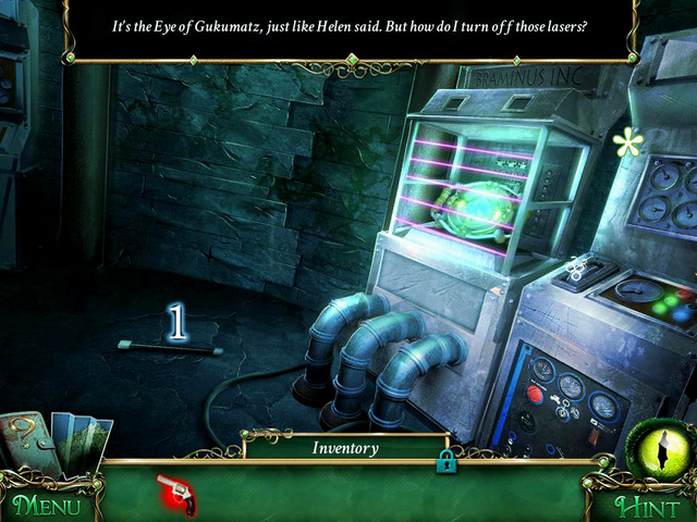 When you go inside, turn left to Lighthouse basement, were you find Handle [1] - Lighthouse - Main storyline - 9 Clues: The Secret of Serpent Creek - Game Guide and Walkthrough