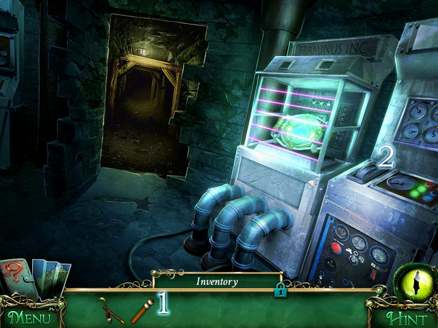 Then solve the scene with hidden object and go through the passage in the mirror - Lighthouse - Main storyline - 9 Clues: The Secret of Serpent Creek - Game Guide and Walkthrough