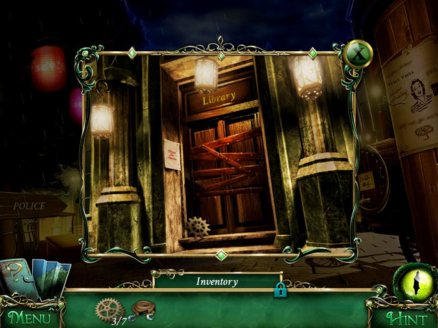 Town square: in front of the library - Collectibles - Collectibles and puzzles - 9 Clues: The Secret of Serpent Creek - Game Guide and Walkthrough